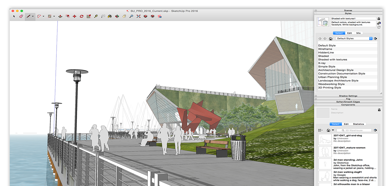Sketchup el software ideal para arquitectos