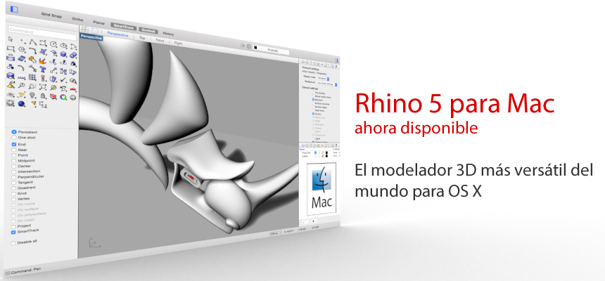 Rhinoceros para Mac
