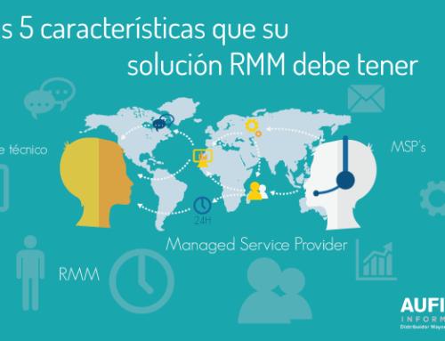 Las 5 características que su solución RMM debe tener