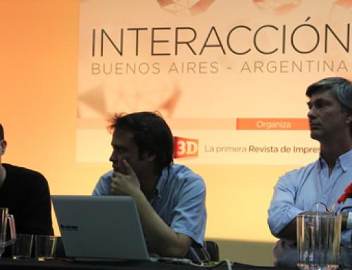 Estuvimos presentes en el evento Interacción 3D– Congreso de Impresión 3D y Fabricaciones Digitales
