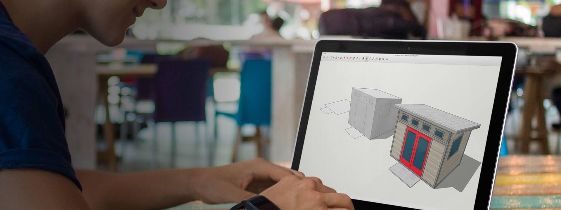 Sketchup modelado facil en 3D