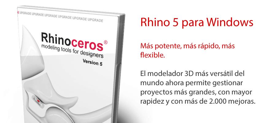 Rhinoceros para windows