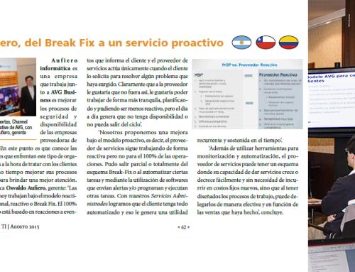 Aufiero Informática, del Break Fix a un servicio Proactivo