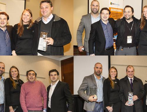 Los ganadores del Sorteo en el Evento para MSP's de AVG-LA